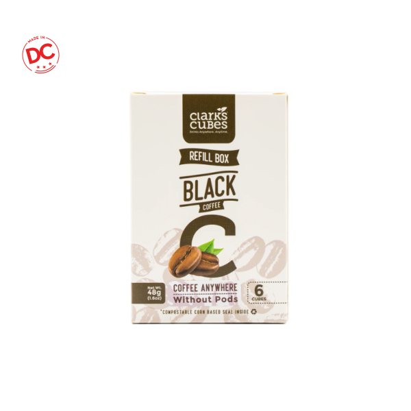 Refill Box Black Coffee - 6 Ct Shelf Stable Grocery