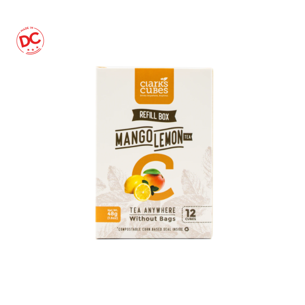 Refill Box Mango Lemon - 12 Ct Shelf Stable Grocery