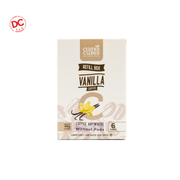 Refill Box Vanilla Coffee - 6 Ct Shelf Stable Grocery