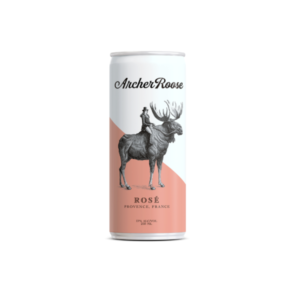 Rose - 4 / 250 Ml Can Alcohol