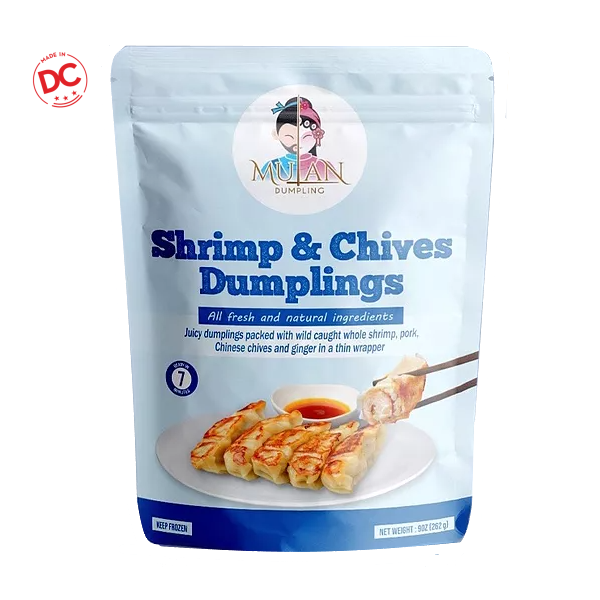 Shrimp & Chives - 9 Oz Bag Frozen