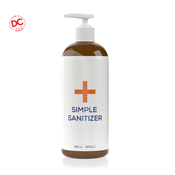 Simple Sanitizer Yorker - 16 Oz Btl Miscellaneous
