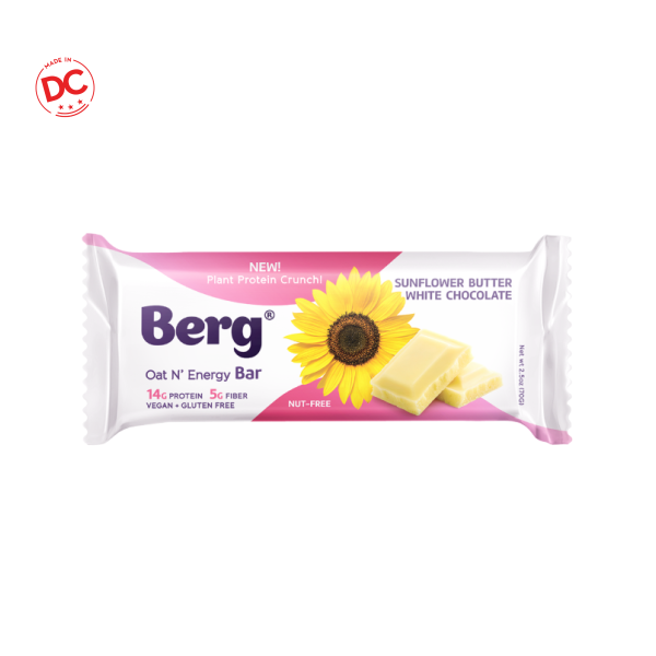 Sunflower Butter White Chocolate - 2.5 Oz Bar Shelf Stable Grocery