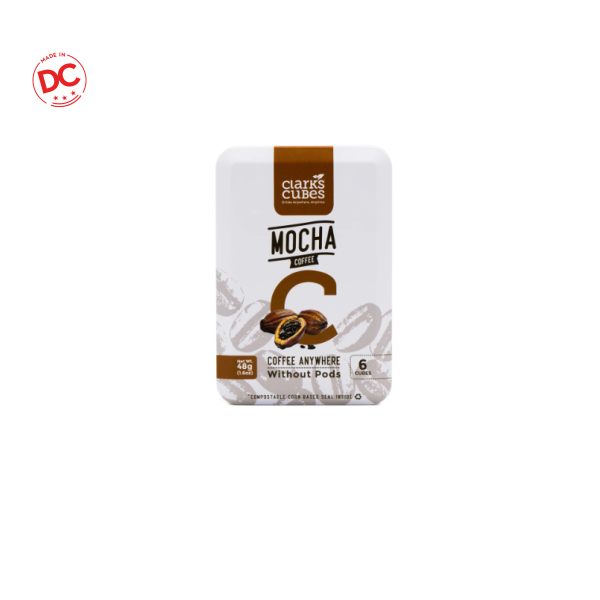 Travel Tin Mocha Coffee - 6 Ct Box Shelf Stable Grocery