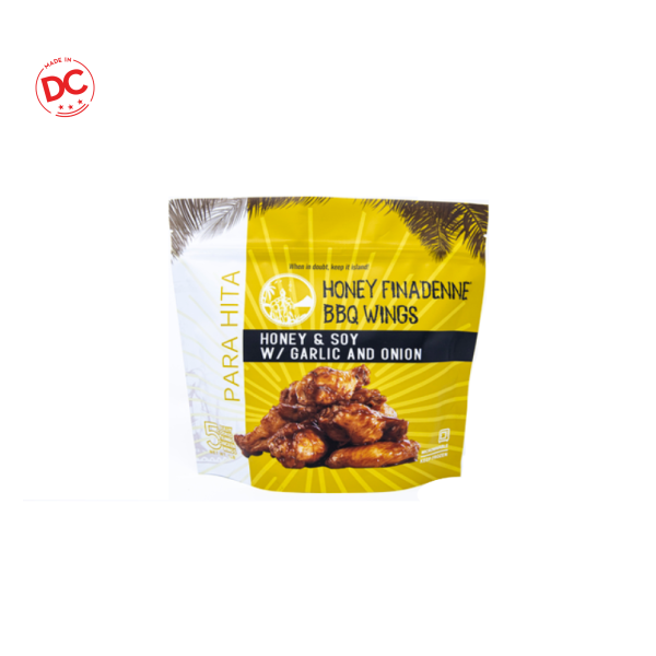 Wings Honey Finadenne Bbq - 1 Lb Frozen
