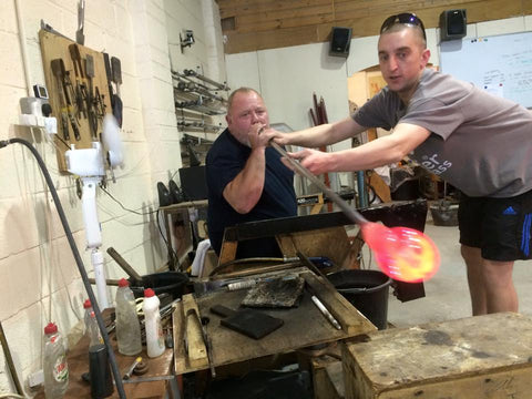 Terry Glassblowing