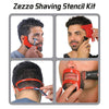 Shaving Stencil Kit (4pcs/set)