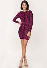 Load image into Gallery viewer, Tiger Jacquard Dress