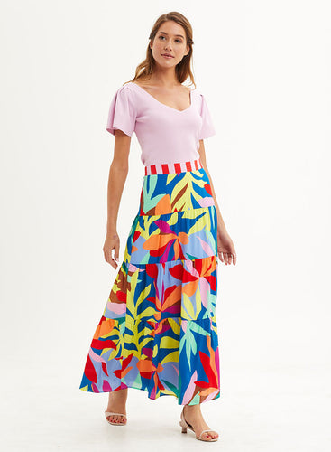 Mckenzie Silk Skirt