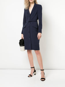 Belted Jacket Dress