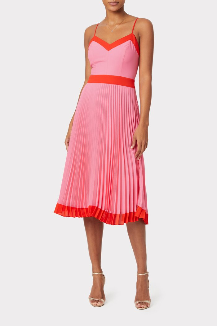 Jill Pleated Dress