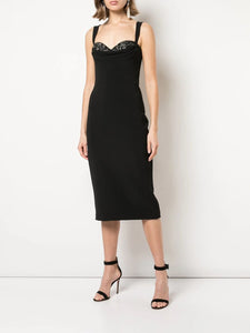 Cowl Neck Cocktail Dress