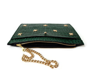 Golden Bee Wristlet