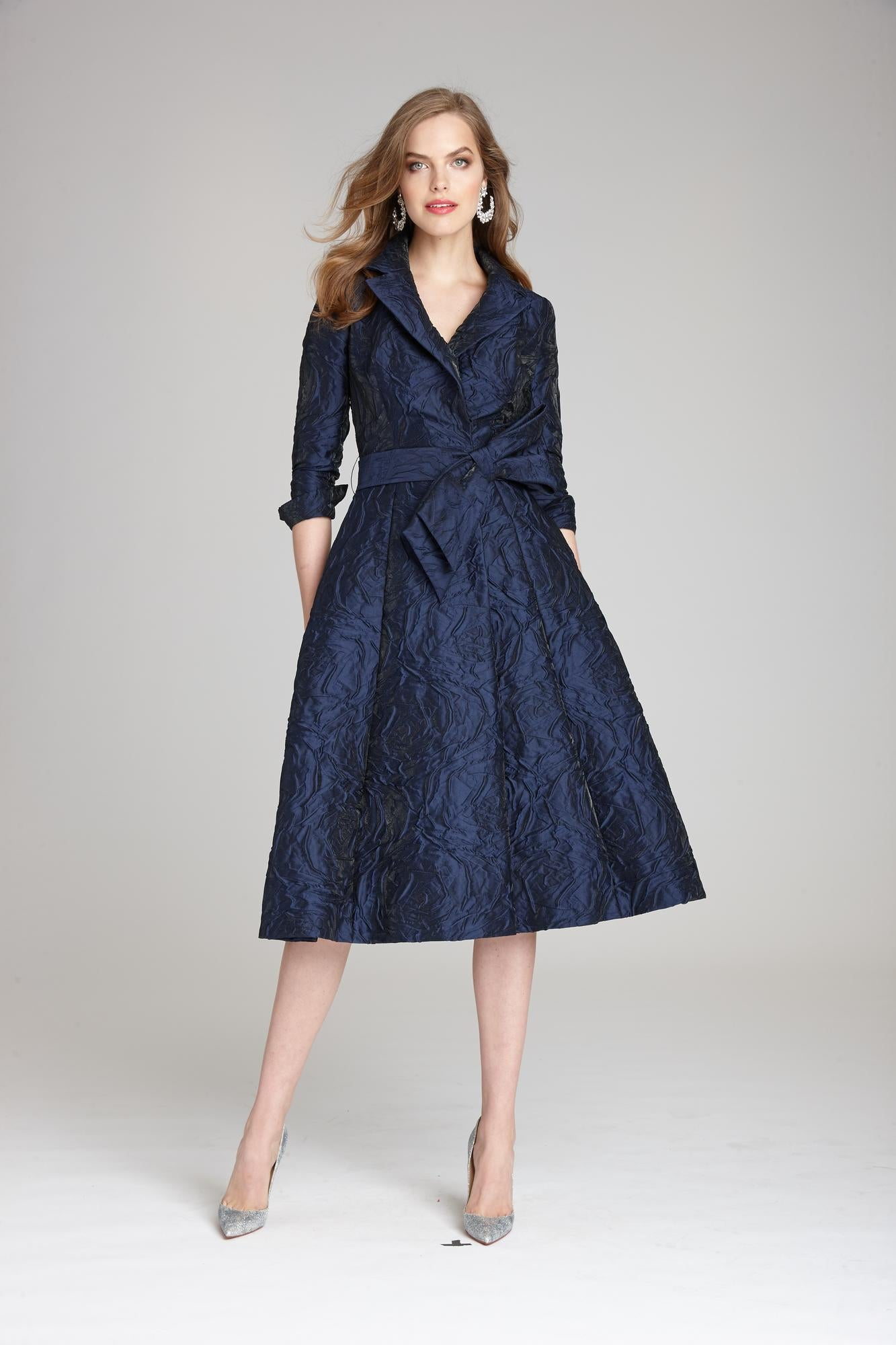 Jacquard Shirt Dress