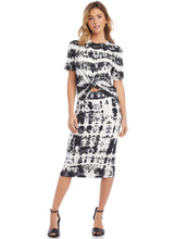 Load image into Gallery viewer, Tie Dye Midi Skirt