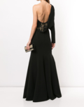 One Shoulder Mermaid Gown