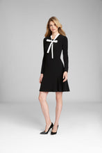 Load image into Gallery viewer, Tie Collar Dress