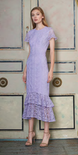 Load image into Gallery viewer, Lace Midi Dress