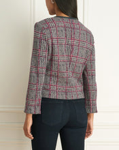Load image into Gallery viewer, Plaid Short Jacket