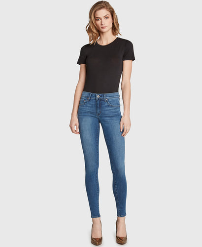 Mid-Rise Skinny - Light Wash