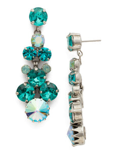 Well-Rounded Crystal Drop Earring