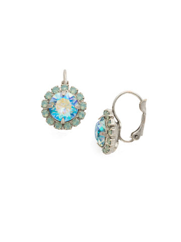 Haute Halo French Wire Earring