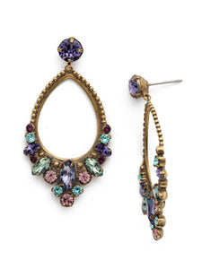 Noveau Navette Statement Earring