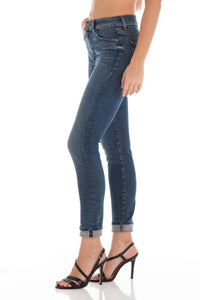 Gwen High Rise Skinny - Medium Wash