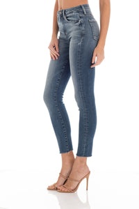 Gwen High Rise Skinny - Vintage Wash