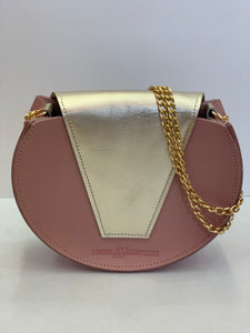 Color Block Round Crossbody
