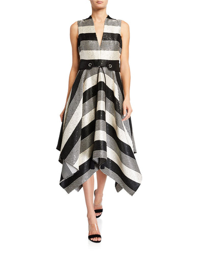 Striped Handkerchief Dress