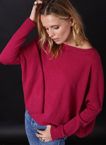 Cropped Boyfriend Sweater