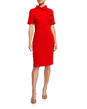 Load image into Gallery viewer, Banded Neck Dress