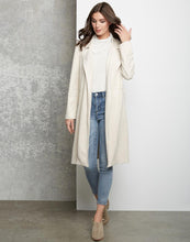 Load image into Gallery viewer, Faux Suede Trench Coat