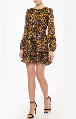 ELMA CHEETAH DRESS