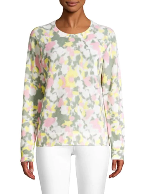 Watercolor Cashmere Sweater