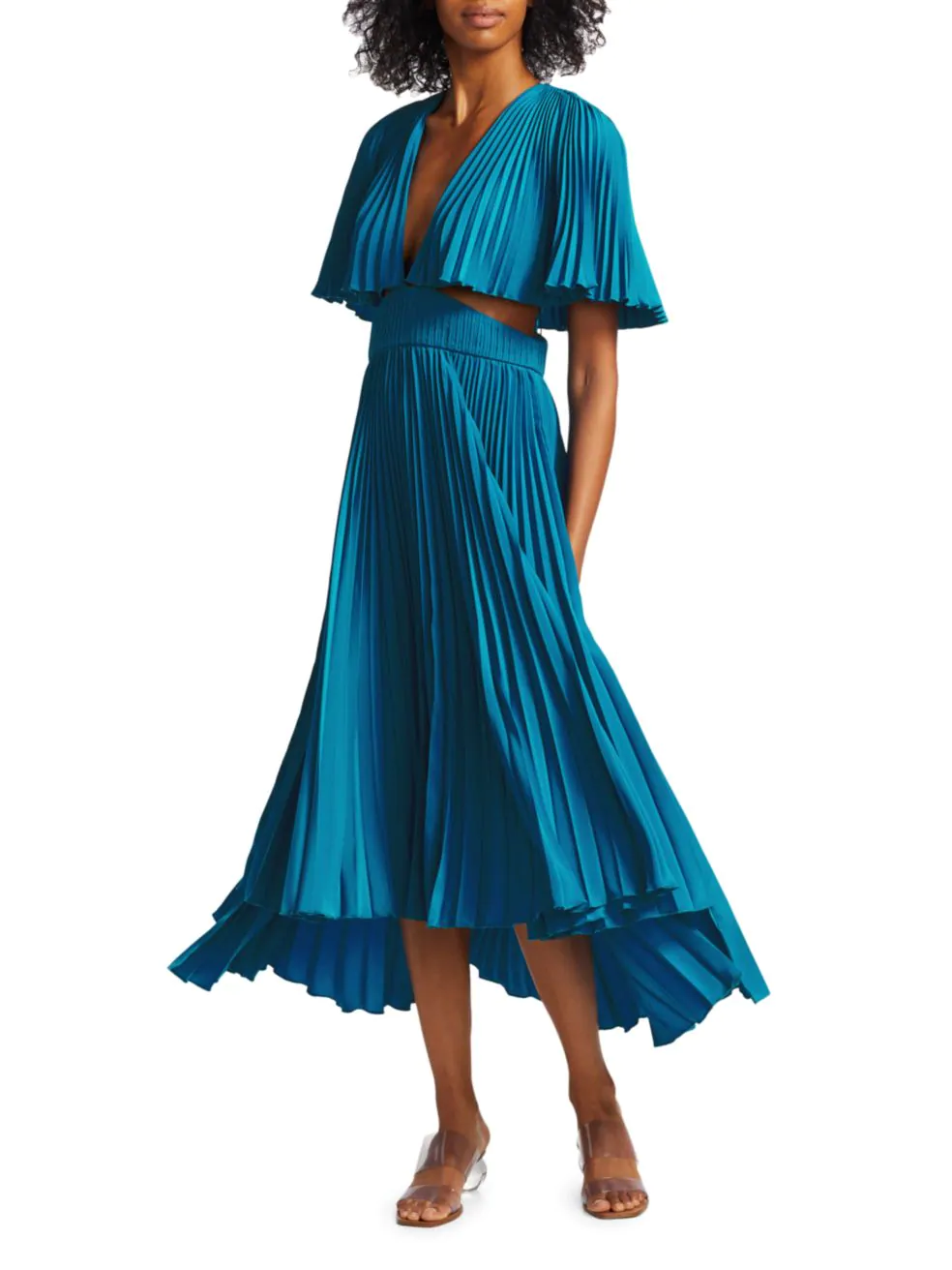 Dara Pleated Dress