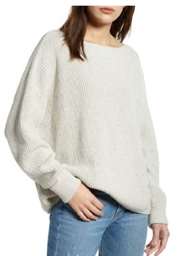 Knit Speckle Sweater