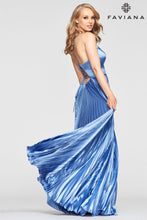 Load image into Gallery viewer, Pleated Charmeuse Gown