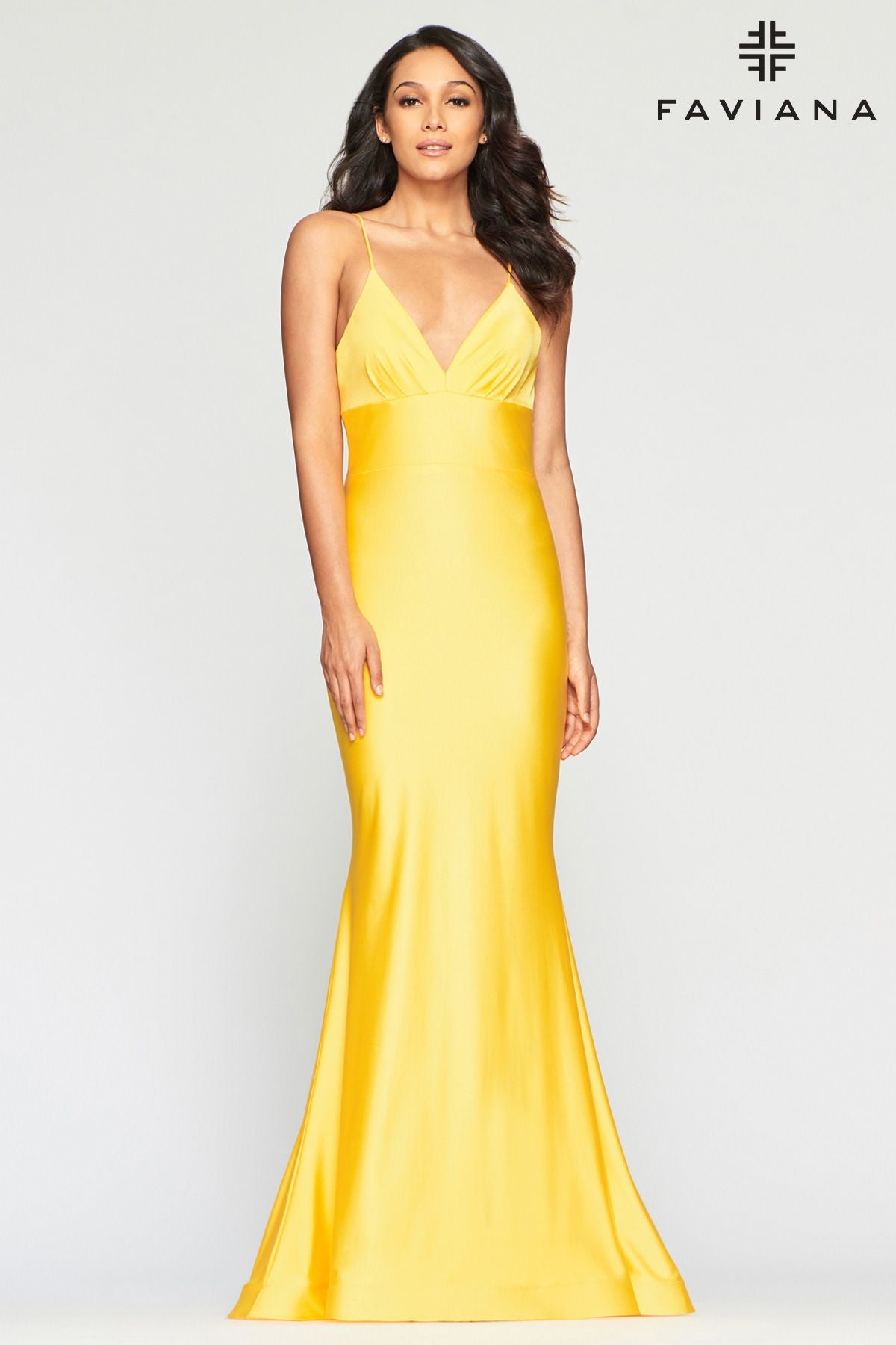 Backless Charmeuse Gown