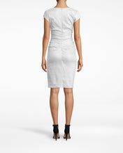 Load image into Gallery viewer, Cap Sleeve Tuck Dress