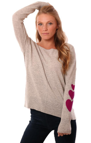 Heart Sleeve Sweater