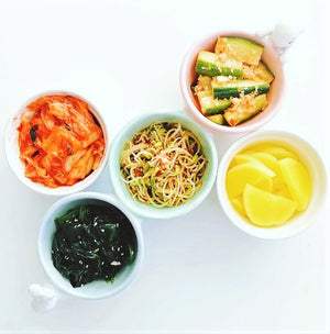 5 Simple Korean Banchan (#반찬)