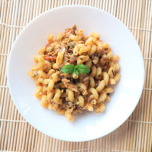 Tuna Riccioli with Red Chilli Pesto
