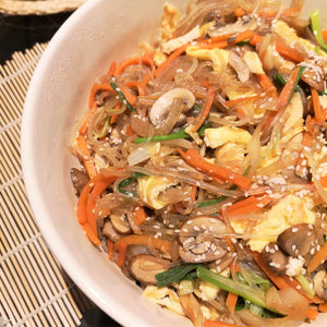 Korean Glass Noodle Stir Fry (#Japchae #잡채)