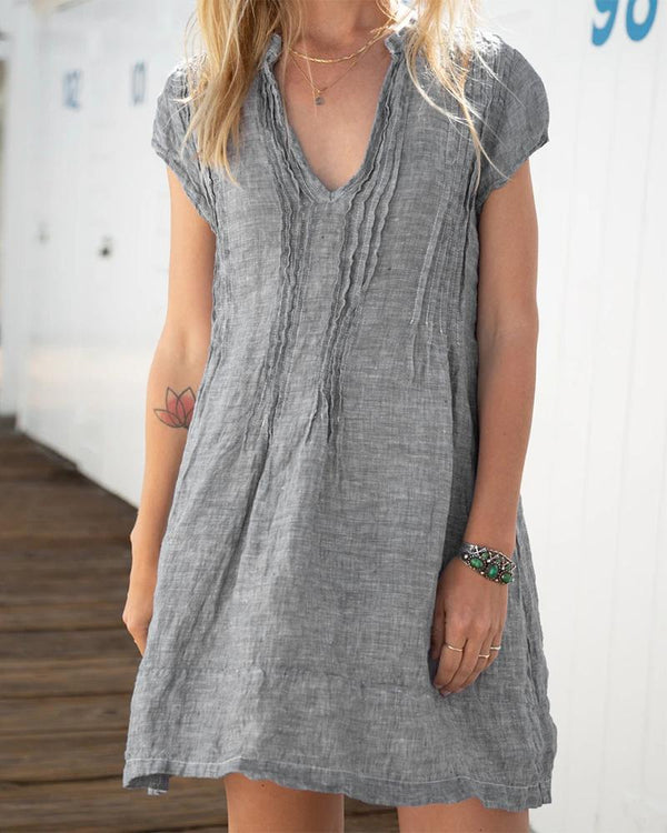 Simple Casual Loose Dress