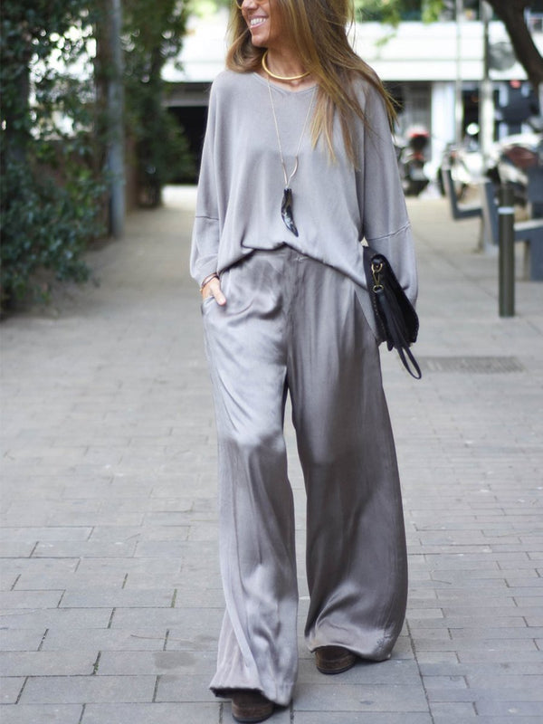Simple Casual Comfortable Loose Suit