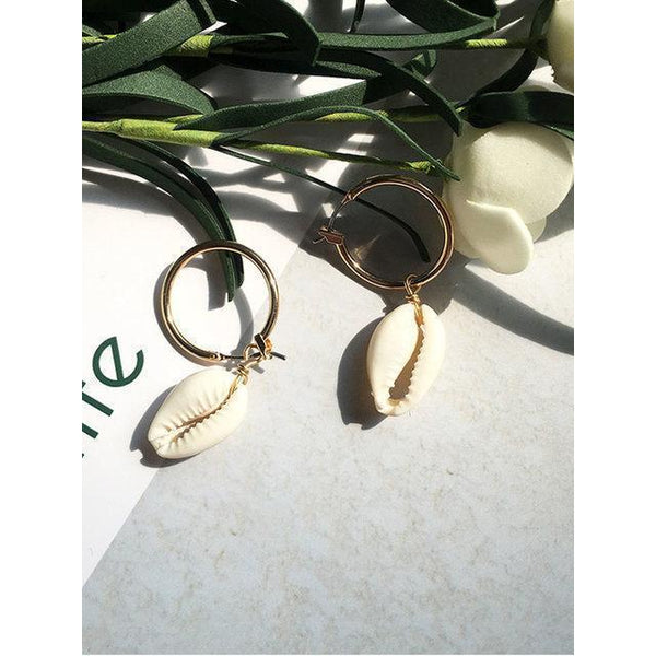 Womens Shell Earings New Casual Natural Earings