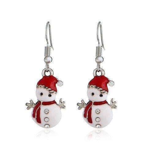 Christmas Earrings Charms Dangle Earrings Women