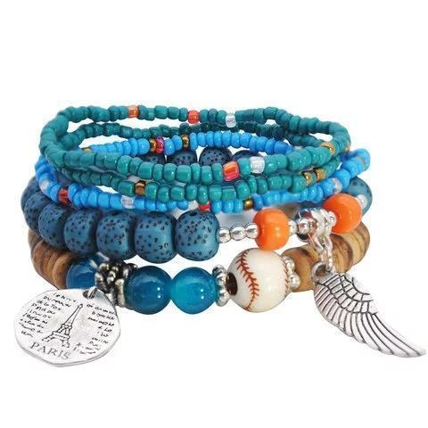 Boho Holiday Athletic Bracelet